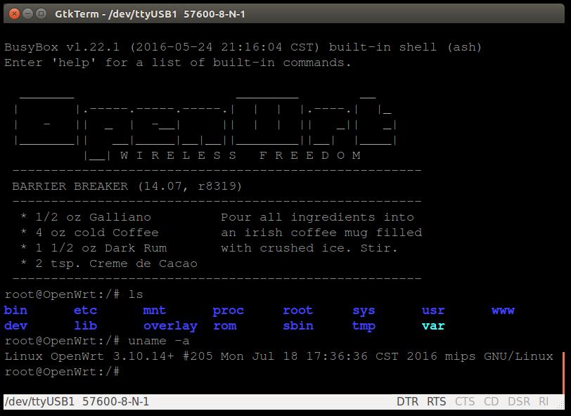 OpenWRT for WS-WN529B3 - Connor McMillan