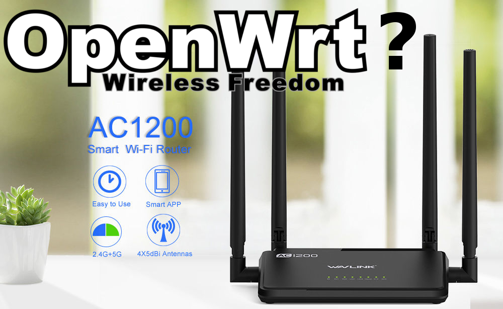 OpenWRT for WS-WN529B3